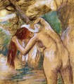 Bather by the Water - Edgar Degas