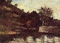 A Bend in the River - Paul Cezanne