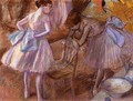 Two Dancers in Their Dressing Room - Edgar Degas