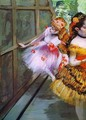 Ballet Dancers in Butterfly Costumes (detail) - Edgar Degas
