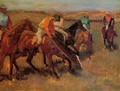 Before the Race II - Edgar Degas