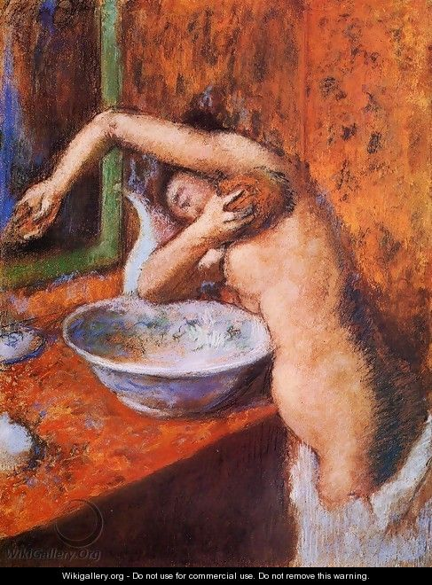 Woman Washing Herself I - Edgar Degas