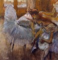 Dancers Relaxing - Edgar Degas