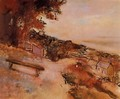 Landscape by the Sea - Edgar Degas