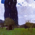 The Tall Poplar Trees II - Gustav Klimt
