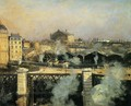 The Pont de l'Europe and the Gare Saint-Lazare with Scaffolding - Norbert Goeneutte