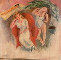 Composition with Three Women - Jules Pascin