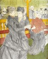 Dancing at the Moulin Rouge - Henri De Toulouse-Lautrec