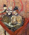 The Grand Tier - Henri De Toulouse-Lautrec