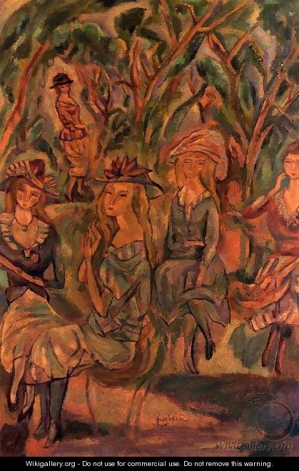 Women in the Park - Jules Pascin