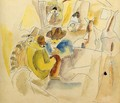 Scene from the Southern States - Jules Pascin