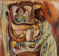 Woman Washing Herself - Jules Pascin