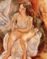 Seated Model - Jules Pascin