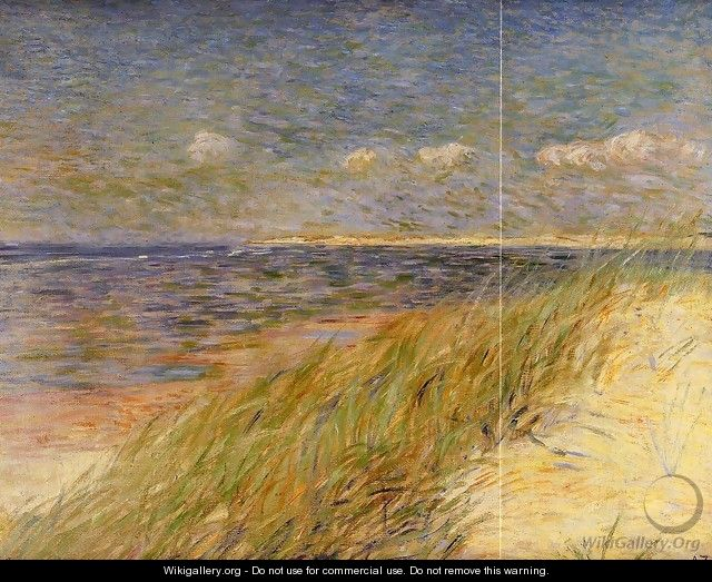 The Dunes of Swin, Knokke - Theo van Rysselberghe