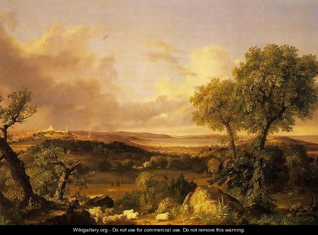 View of Boston - John Smibert