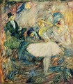 The Dancer in Her Dressing Room - Henri De Toulouse-Lautrec