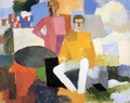 The Fourteenth of July - Roger de la Fresnaye
