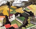 The Factory Chimney, Meulan Landscape - Roger de la Fresnaye