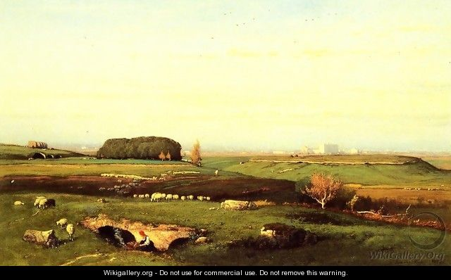 In the Roman Campagna - George Inness