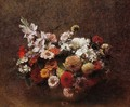 Bouquet of Flowers II - Ignace Henri Jean Fantin-Latour