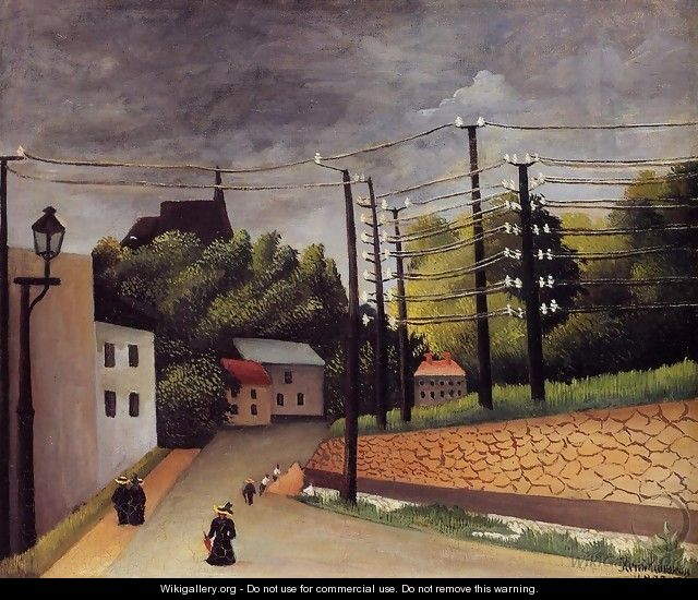 View of Malakoff - Henri Julien Rousseau