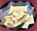 The Blue Cloth - Juan Gris