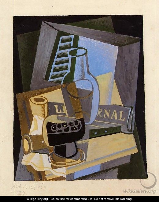 Still Life in Front of the Wiindow - Juan Gris