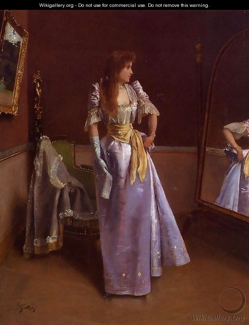 Ready for the Ball - Alfred-Emile-Leopole Stevens