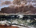 The Wave II - Gustave Courbet