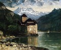 Chateau du Chillon I - Gustave Courbet