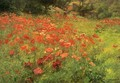 In Poppyland - John Ottis Adams