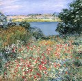 Poppy Garden - Willard Leroy Metcalf