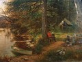 Camping Out in the Adirondacks - George Lafayette Clough