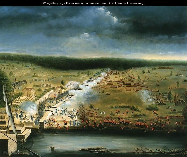 Battle of New Orleans - Jean-Hyacinthe Laclotte