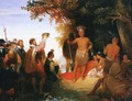 The Coronation of Powhatan - John Chapman
