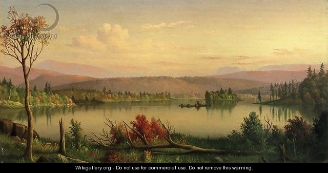 Blue Mountain Lake - Levi Wells Prentice