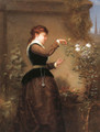 Tending the Rose Bush - George Henry Story