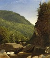 The Top of Kauterskill Falls - Sanford Robinson Gifford