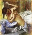 Woman Sponging Her Chest - Edgar Degas