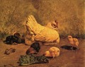 Hen and Chicks - William Baptiste Baird