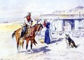 Thoroughman's Home on the Range - Charles Marion Russell