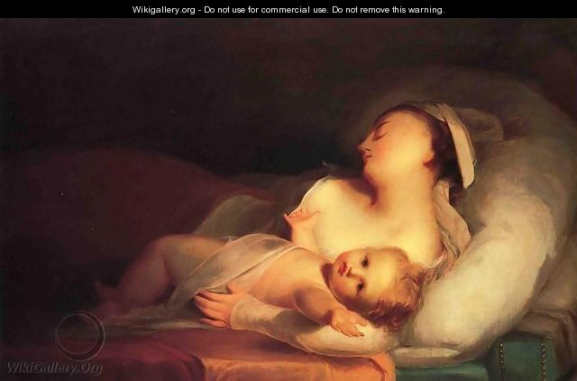Mother and Child - Thomas Sully