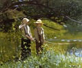 Fishing I - Winslow Homer