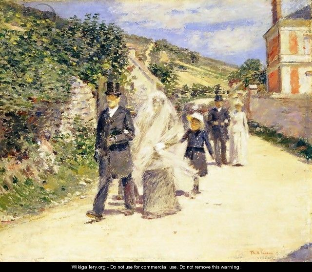 The Wedding March - Theodore Robinson