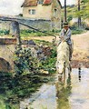 The Watering Place - Theodore Robinson