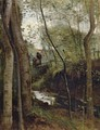 Stream in the Woods - Jean-Baptiste-Camille Corot