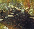 Woodland Pool - John Joseph Enneking