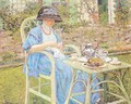 Breakfast in the Garden - Frederick Carl Frieseke
