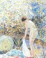 Cherry Blossoms - Frederick Carl Frieseke