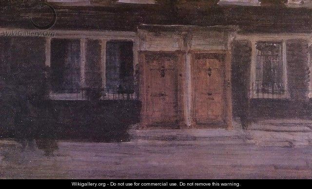 Chelsea Houses - James Abbott McNeill Whistler